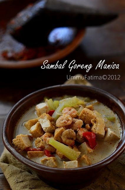 Resep Sambal Goreng Manisa : resep, sambal, goreng, manisa, Simply, Cooking, Baking...:, Sambal, Goreng, Manisa, Makanan,, Memasak,, Resep