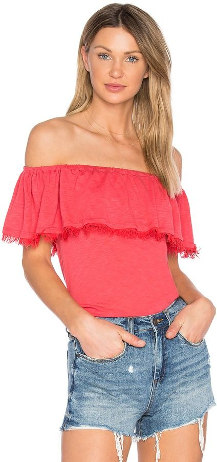 92715b5990e633 Splendid Off The Shoulder Ruffle Top on ShopStyle | Wishlist | Tops ...