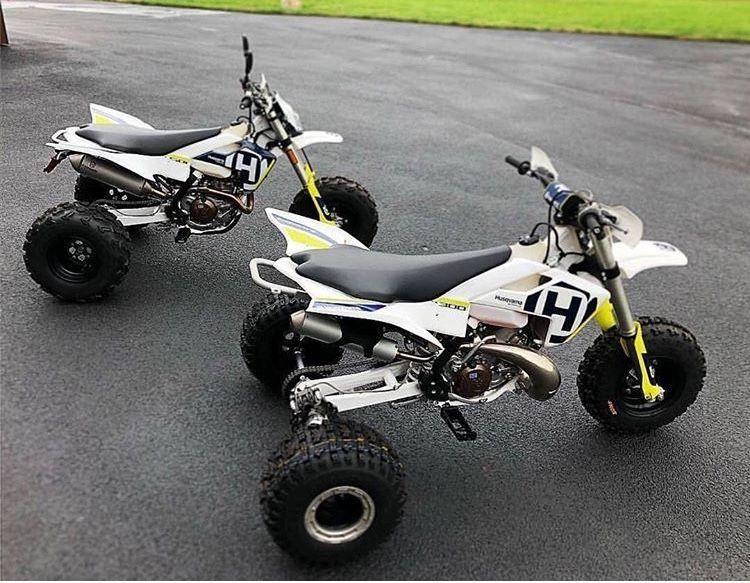 2018 Husqvarna FC450 and TC300 dirt bike to 3-wheeler conversions