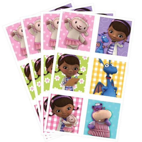 Doc McStuffins Stickers - 24ct Party Favors - Party City Things I - party city store costumes