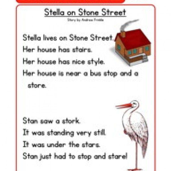 phonics stories comprehension st | Kindergarten | Pinterest ...