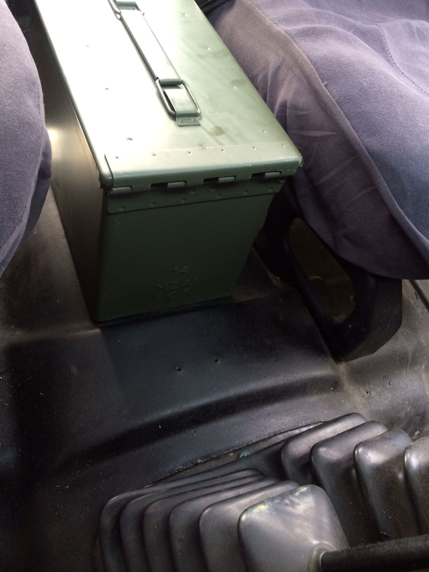 Ammo Can Center Console Jeep Yj Offroad Jeep Ammo Cans