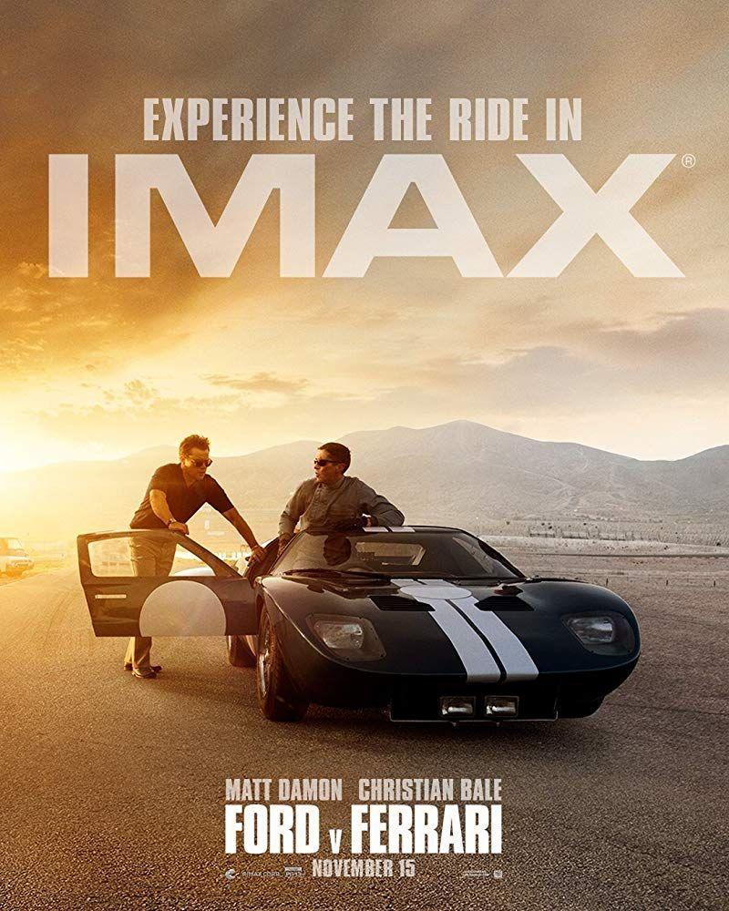 Christian Bale Matt Damon In Ford V Ferrari 2019 Free 4k Ultra