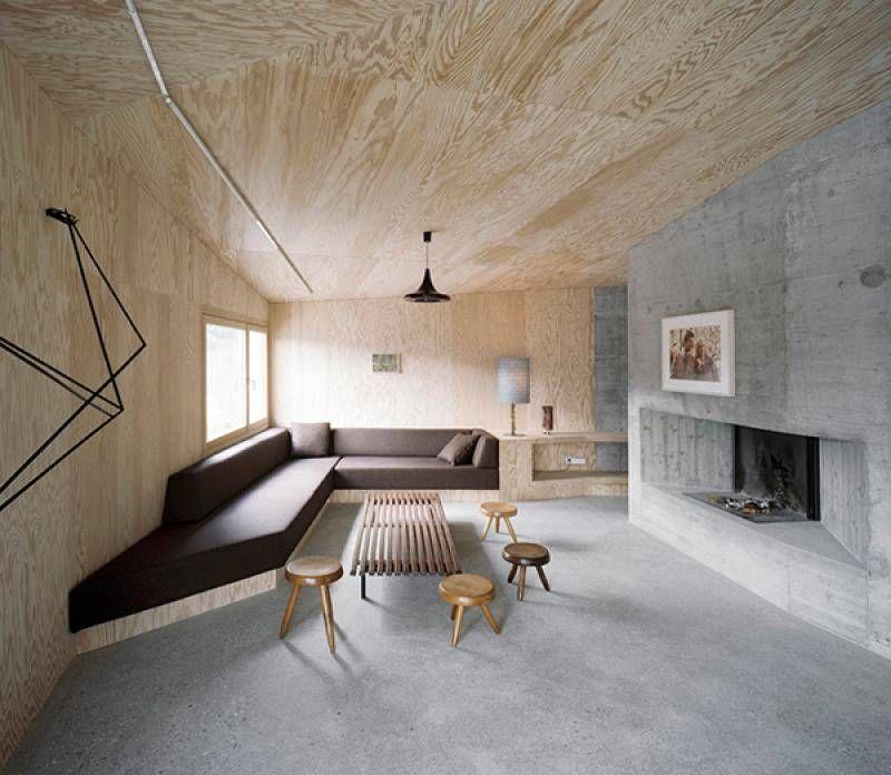 Интерьеры из бетона керамзитобетон плотностью d600