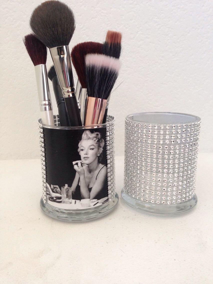 Marilyn Monroe Stuff For Bedroom Marilyn Monroe Inspired Makeup Brush Holder Toothbrush Holders