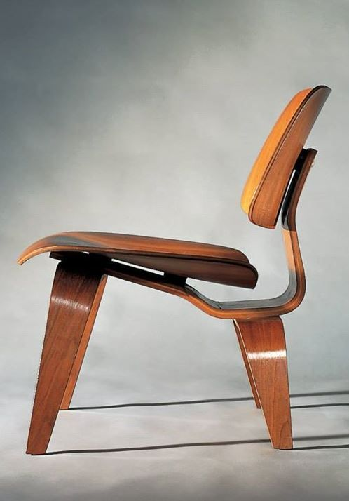 Set of plywood miniatures by charles & Lcw Laminate Chair By Vitra Design Charles Ray Eames 1945 Sedie