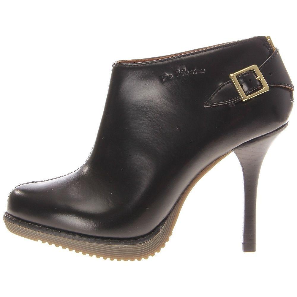 Dr Martens Nevena Black High Heeled Boots RRP$169 NOW $120