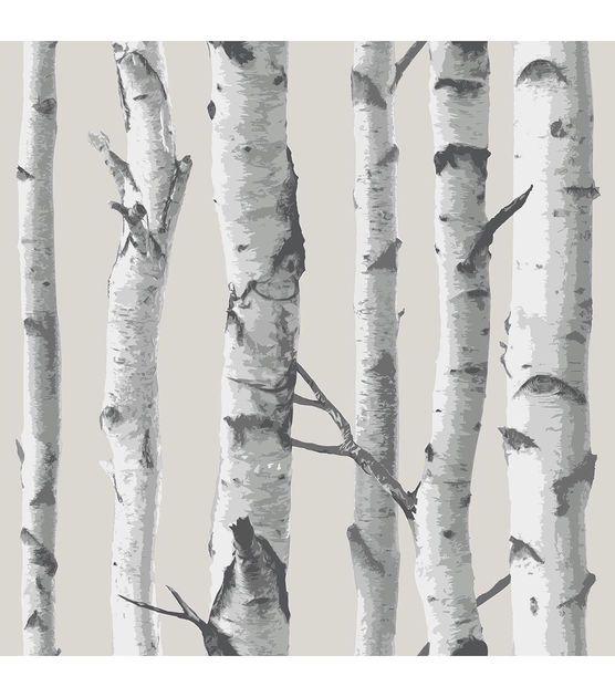 Wallpops Nuwallpaper Birch Tree Peel And Stick Wallpaper Birke