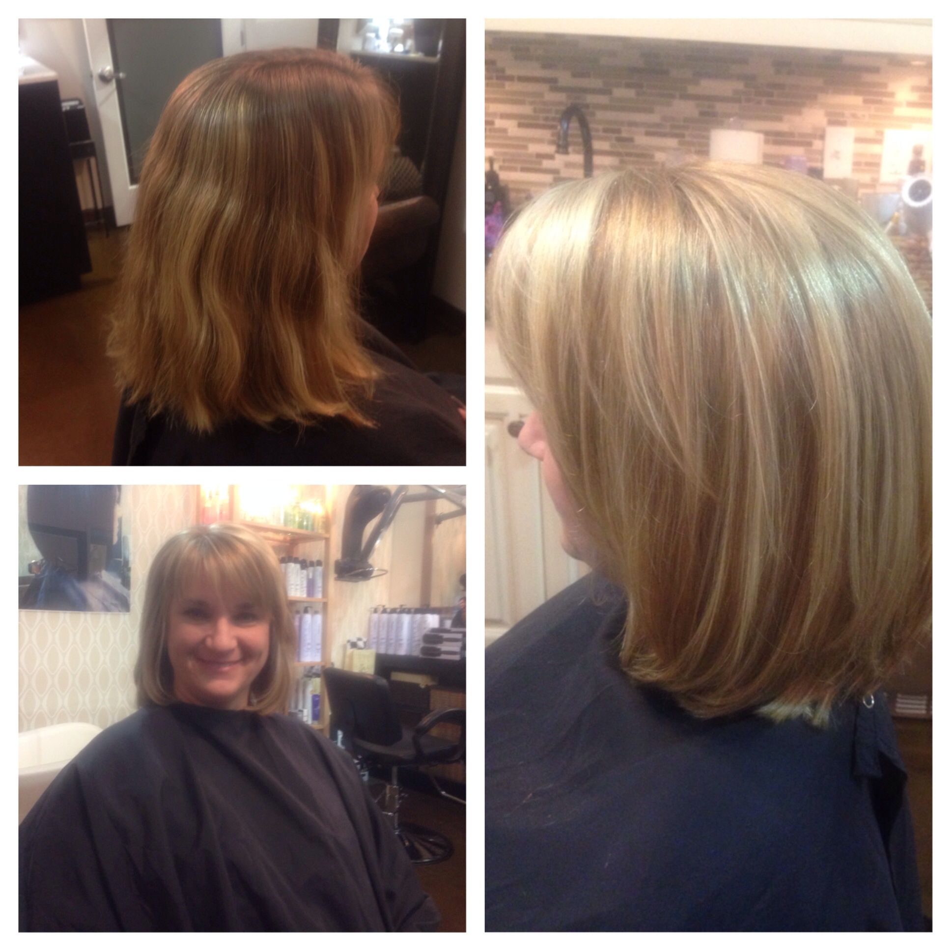 Beforeafter highlightsbrightenercutblowout by lezlie price at z