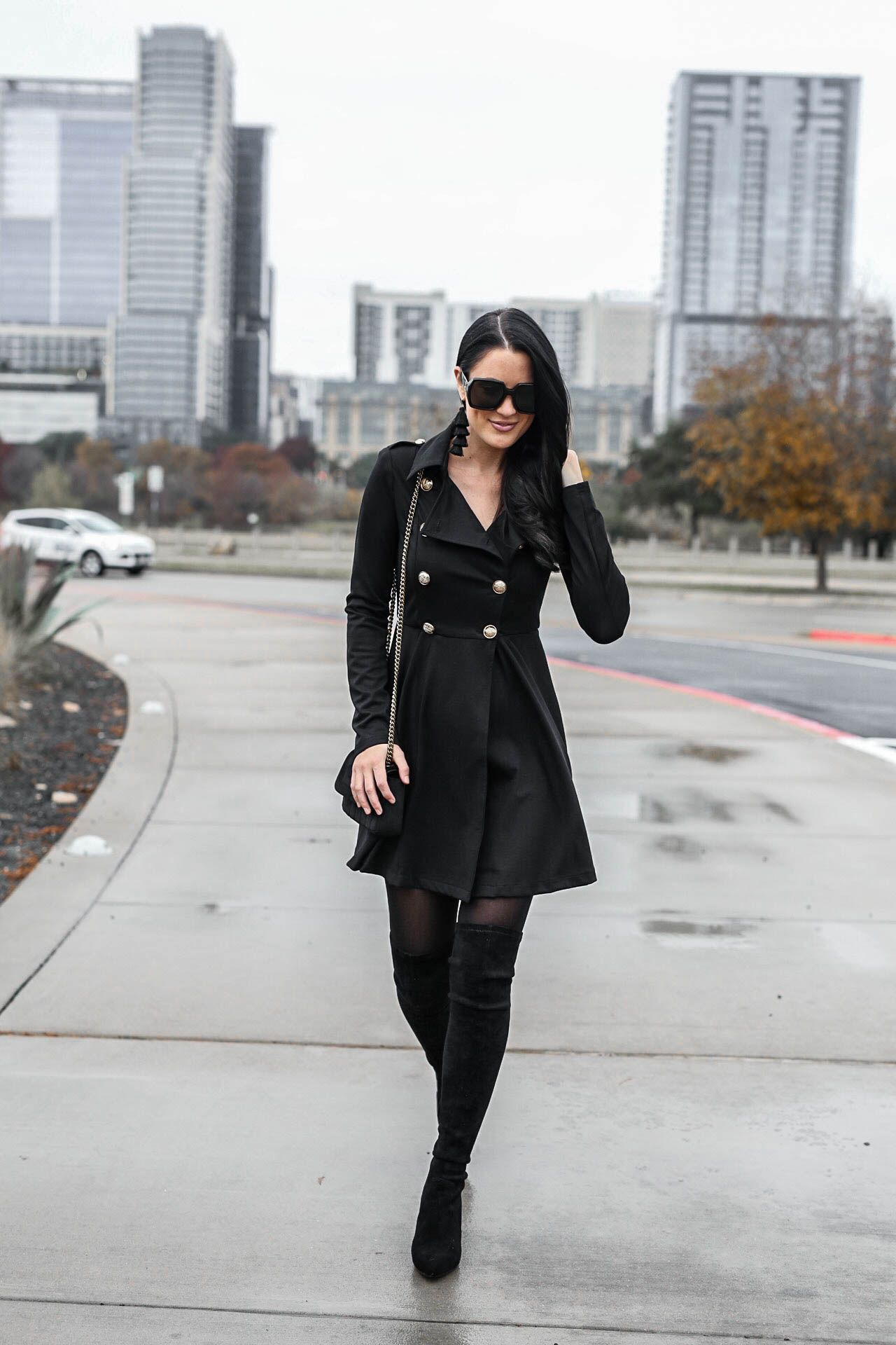 Tips On How To Wear A Black Trench Coat Dress Dressed To Kill Trench Coat Outfit Fall Trench Coats Women Trench Coat Dress [ 1920 x 1280 Pixel ]