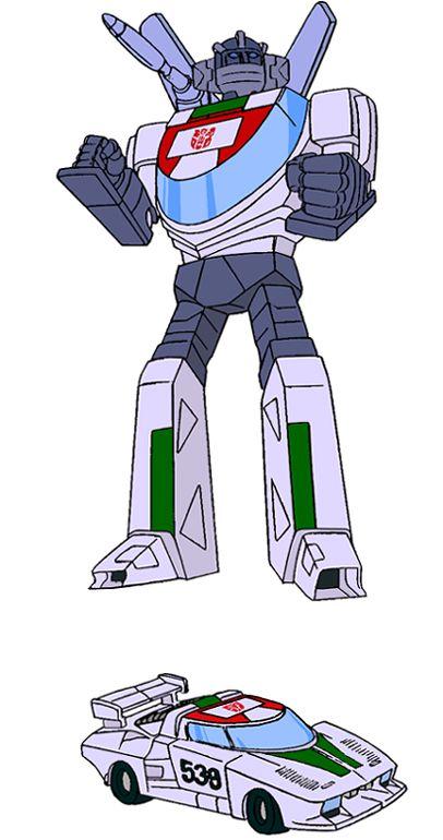Transformers Generation 1 Cartoon Characters : Wheeljack Гонщик Керманич transformers kiev ua