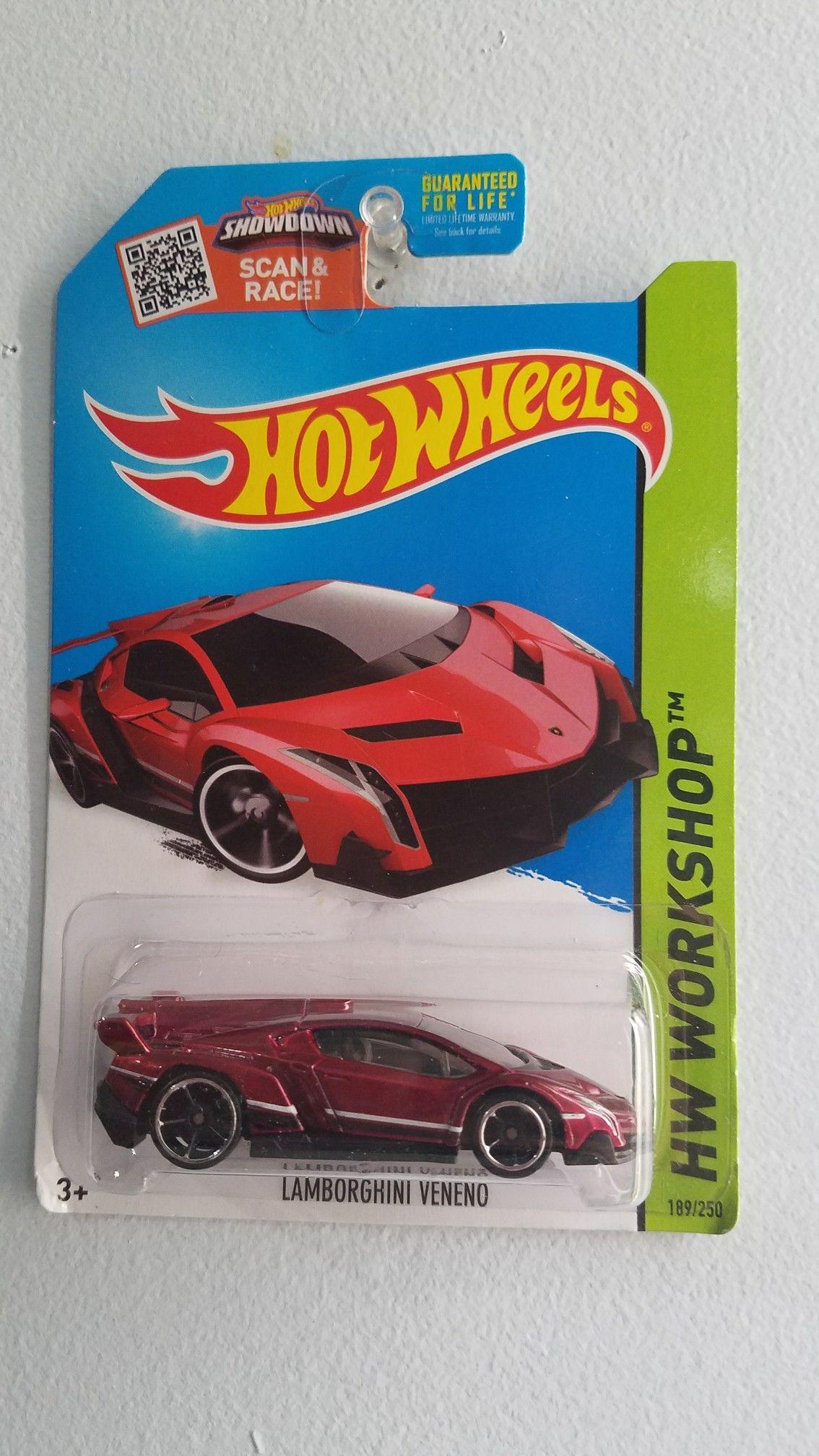Jada car toys  Hot Wheels  Lamborghini Veneno  Hot weels  Pinterest