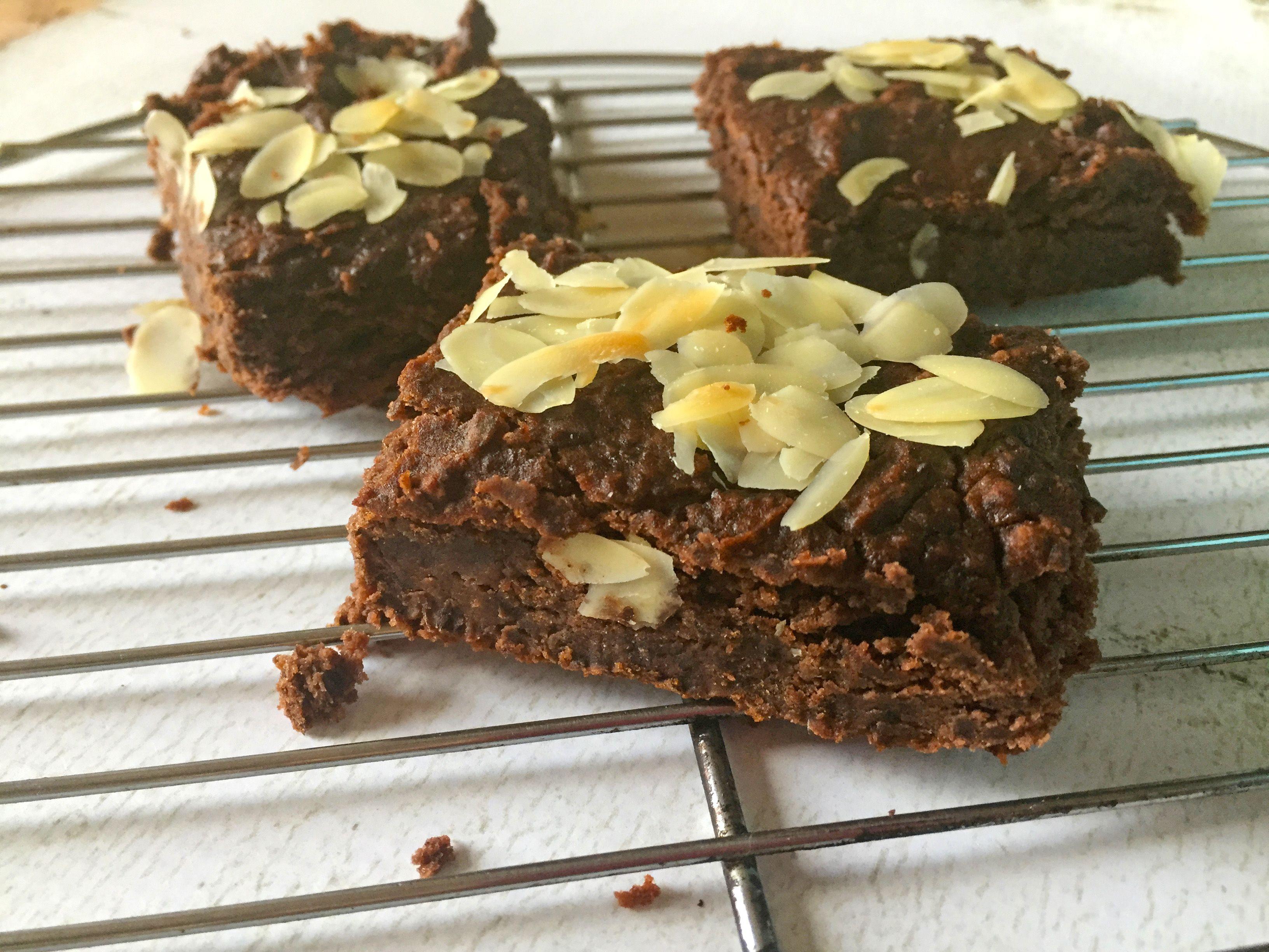 gezonde brownies recept van zwarte bonen