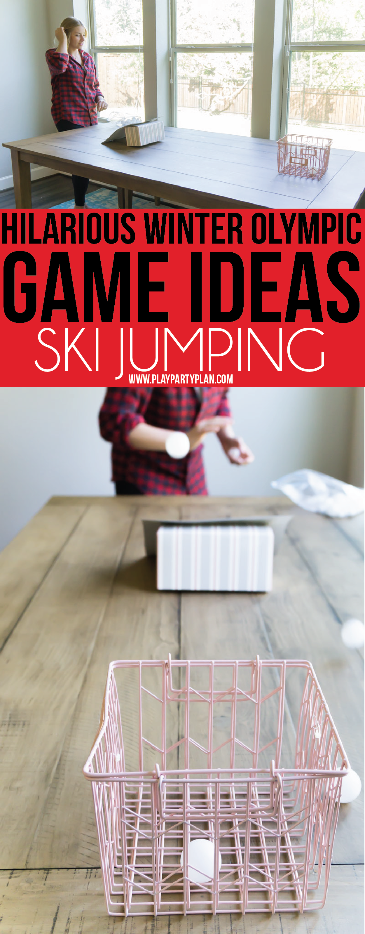 6c64eb2f345 Olympic themed party games inspired by Winter Olympic sports ...