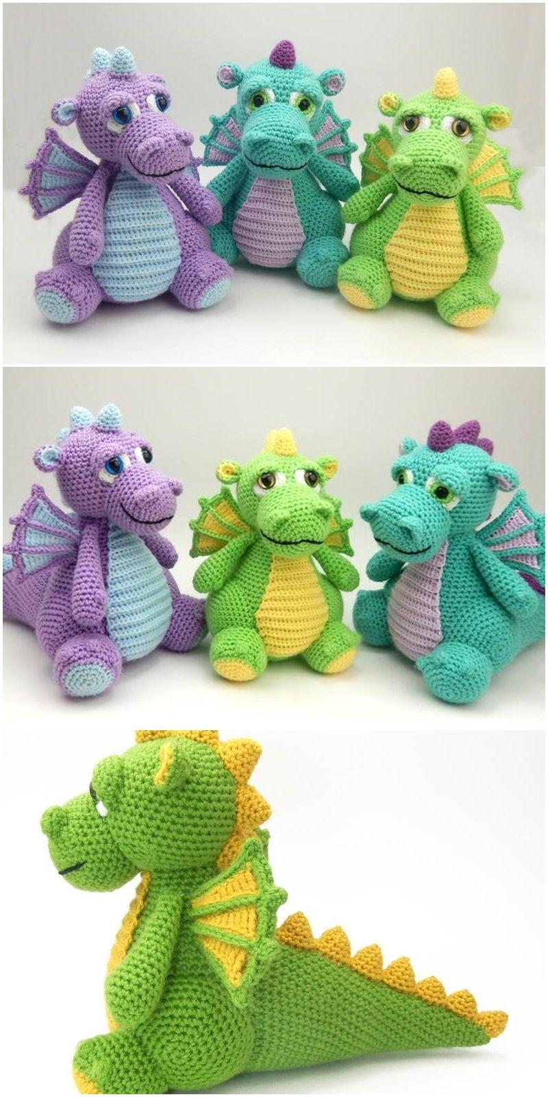 Free Amigurumi Dolls Crochet Patterns - Amigurumi #crochetdinosaurpatterns