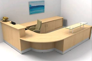 office reception counters. reception counter office furniture philippines manila granite top counters