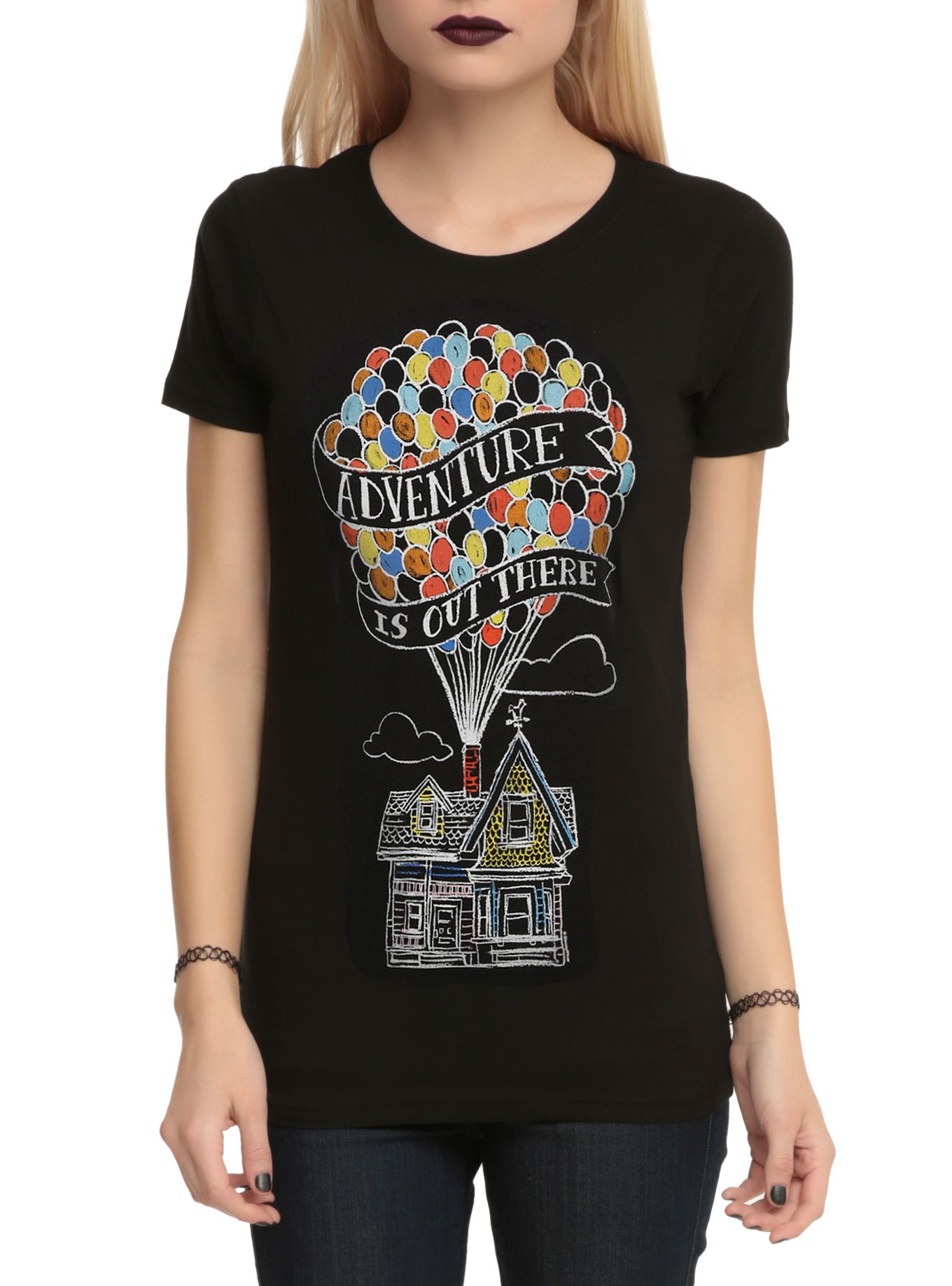 disney up adventure is out there girls tshirt  hot topic