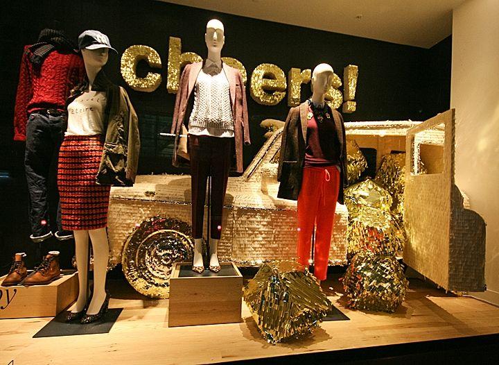 J.Crew Christmas Shop Windows London! » Retail Design Blog
