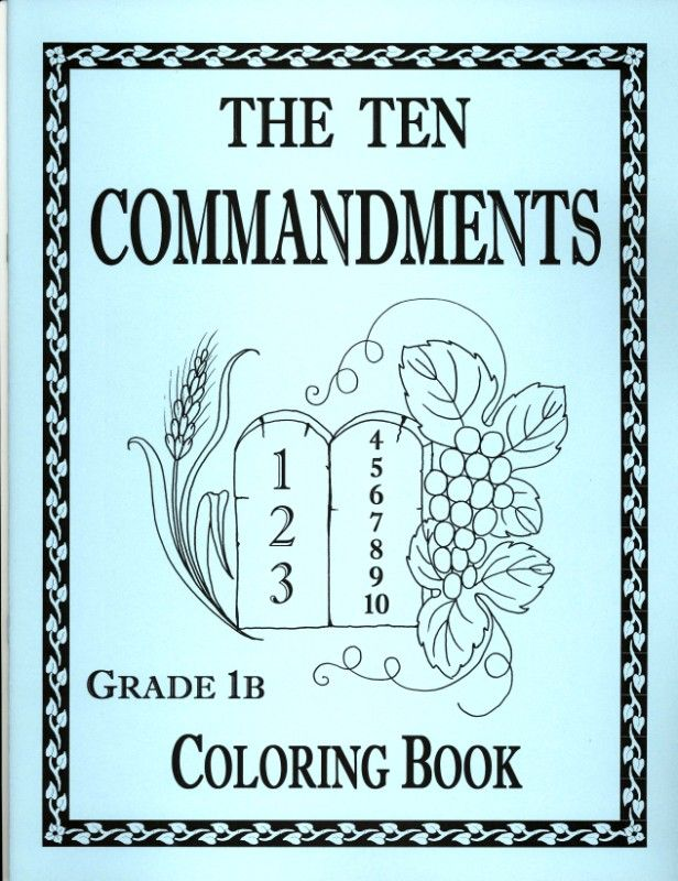 10 commandment coloring pages free coloring pages - Ten Commandments Coloring Sheets