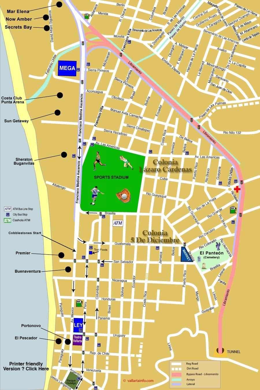 North Downtown Puerto Vallarta Cemetery