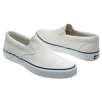 4cef92b9fc Sperry Top-Sider Striper Slip-On Shoes (White) - Men s Shoes - 9.0 M ...