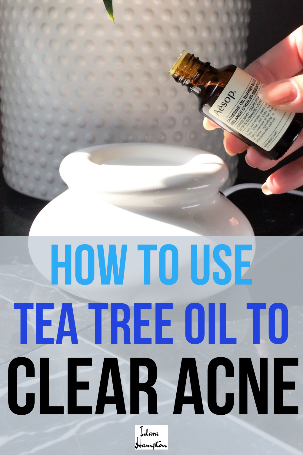 Knock Out Acne with Tea Tree Oil