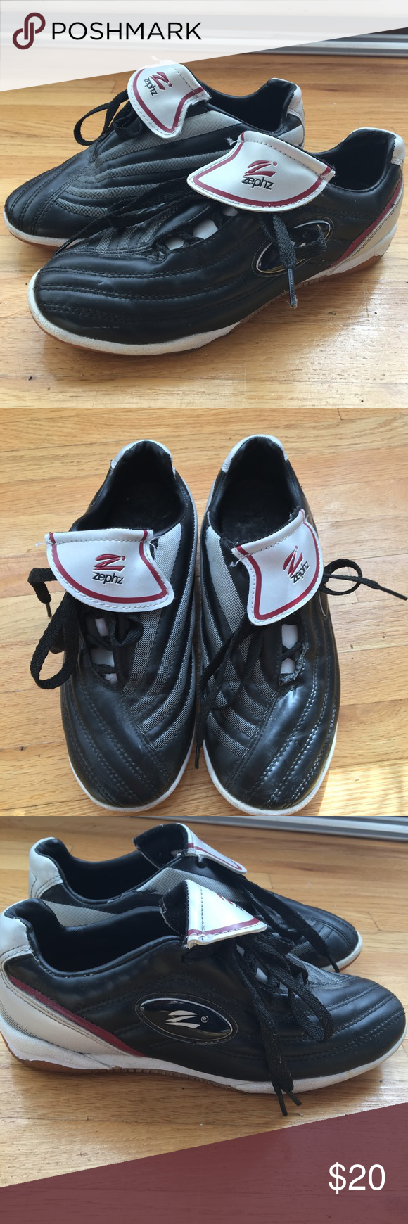 57eb3c9a6e3a Zephz Indoor Soccer Shoes Only worn 2-3 times but has some light signs of  use zephz Shoes Sneakers