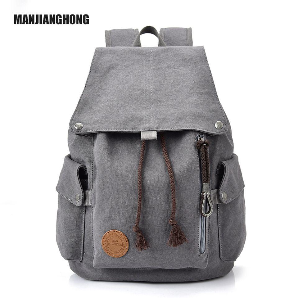 afb06664a02a Custom Canvas Backpack