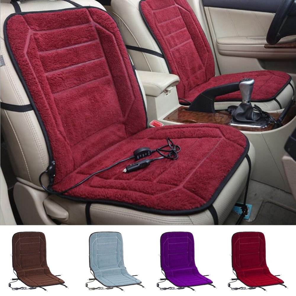 New Car Seat Warmer Cushion For Cold Days Heated Cover Auto DC 12V