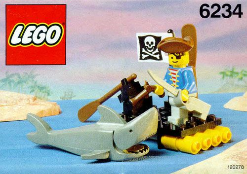 6234 Renegades Raft Lego System And Legos