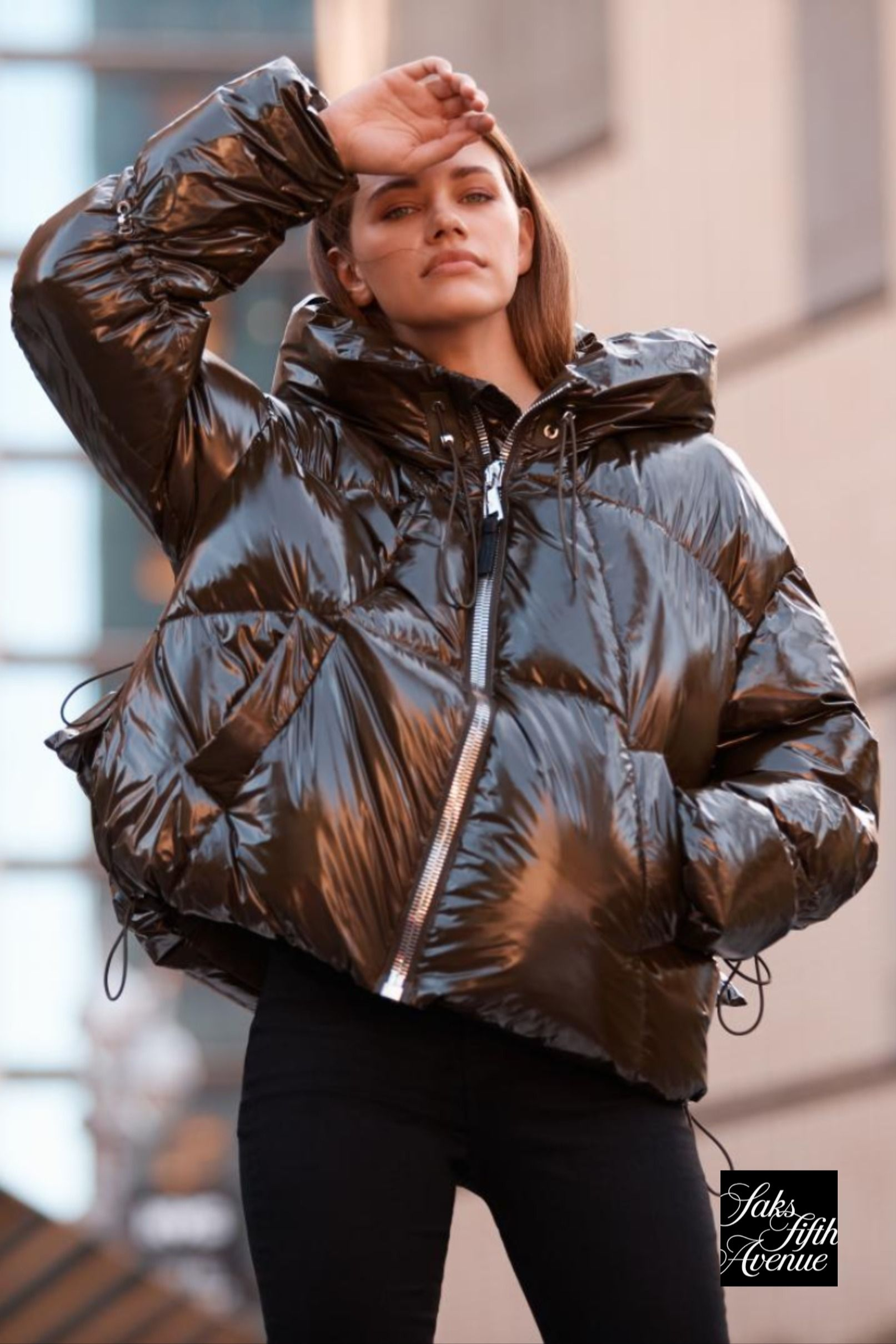 Winter Weather Outfit Nicole Benisti Matignon Puffer Jacket Jackets Clothes For Women Fashion [ 2419 x 1613 Pixel ]