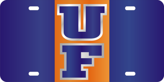 UF License Plate