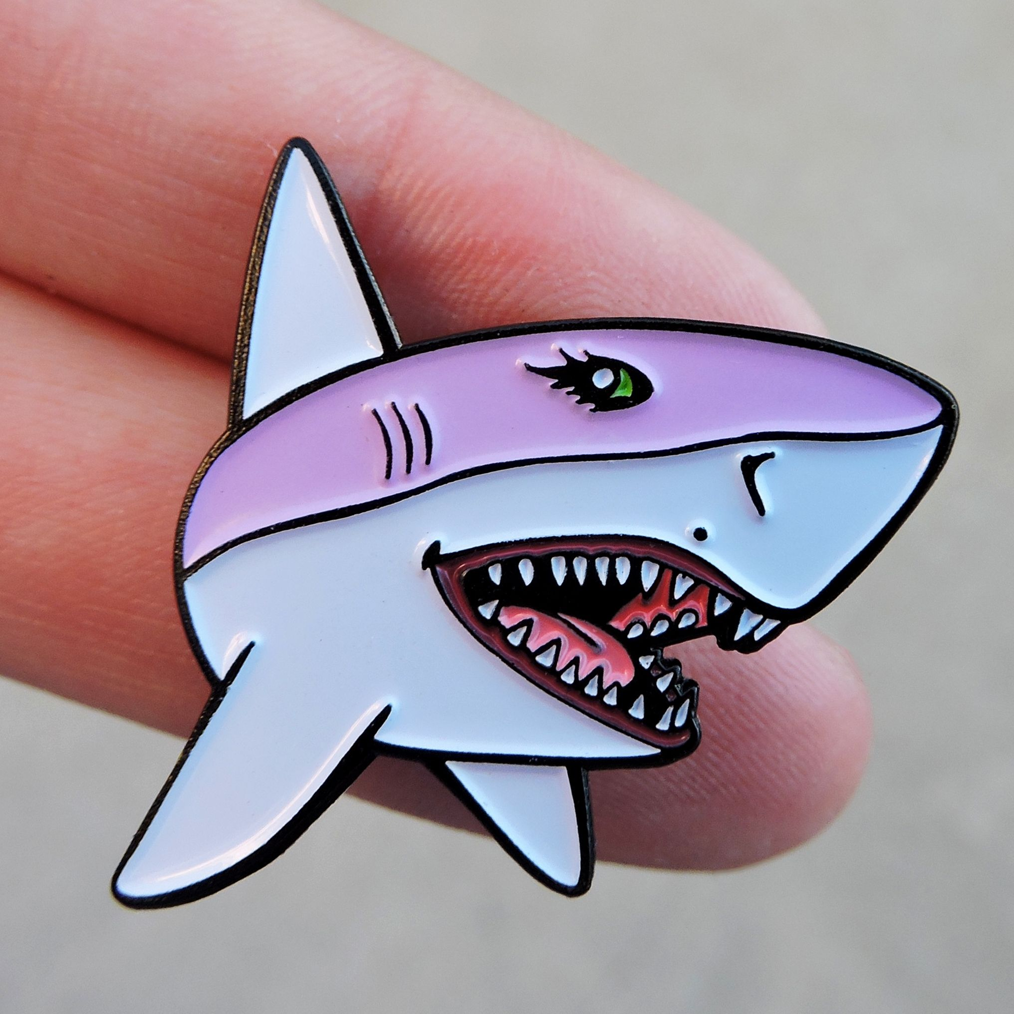 superb Terestpin Part - 4: Babeshark pin