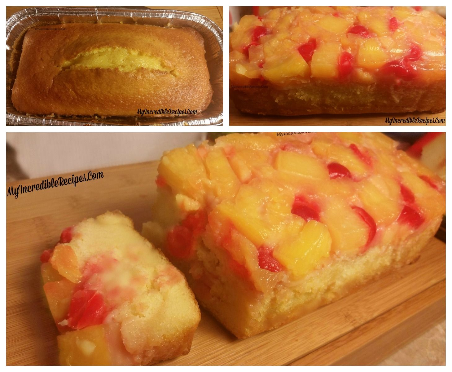 Pineapple Upside Down Bread Recipe Dessert Bread Food Recipes