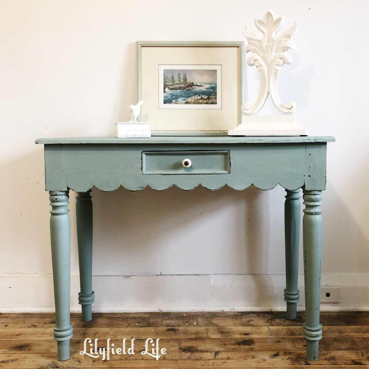 An Ascp Duck Egg Blue A Teal Console Tables Blue Console Table