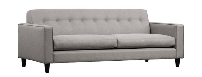 In Fine Order added the Porter Sofa by G-Romano to our Spring 2014 staging stock.  Love the tight back!