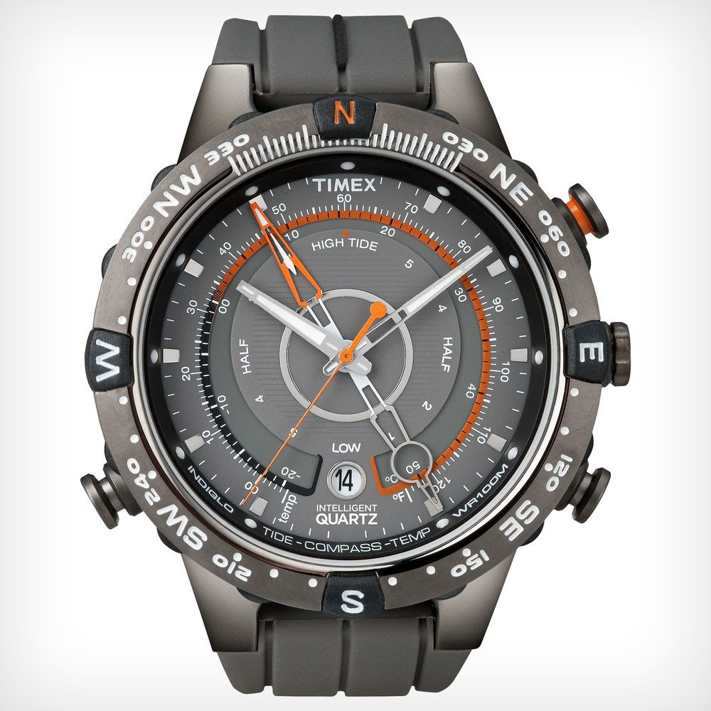 Timex adventure series tide temp compass watch compass for Watches with compass