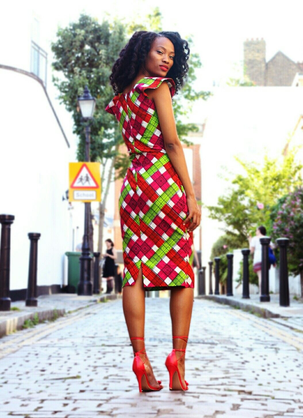African print dresses for weddings  Pin by Soljurni on Diva Style  Pinterest