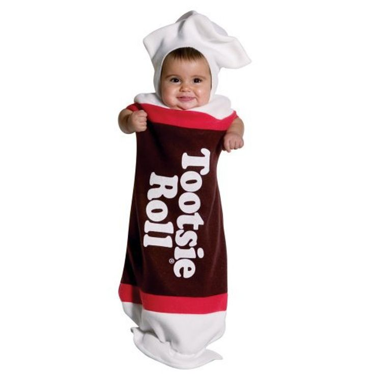 Infant Tootsie Roll Baby Bunting Costume - Adorable- Happy #Halloween from #ShopGlad