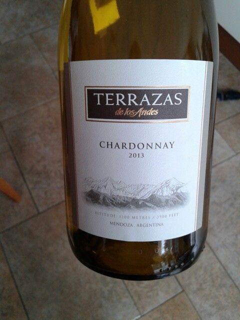 Terrazas Chardonnay Lekkere Wijn Wine Drinks En Bottle