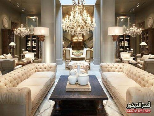 ديكورات داخلية للمنازل العصرية تصاميم فلل كويتية من الداخل قصر الديكور Luxury Living Room Living Room Design Modern Luxury Living Room Design