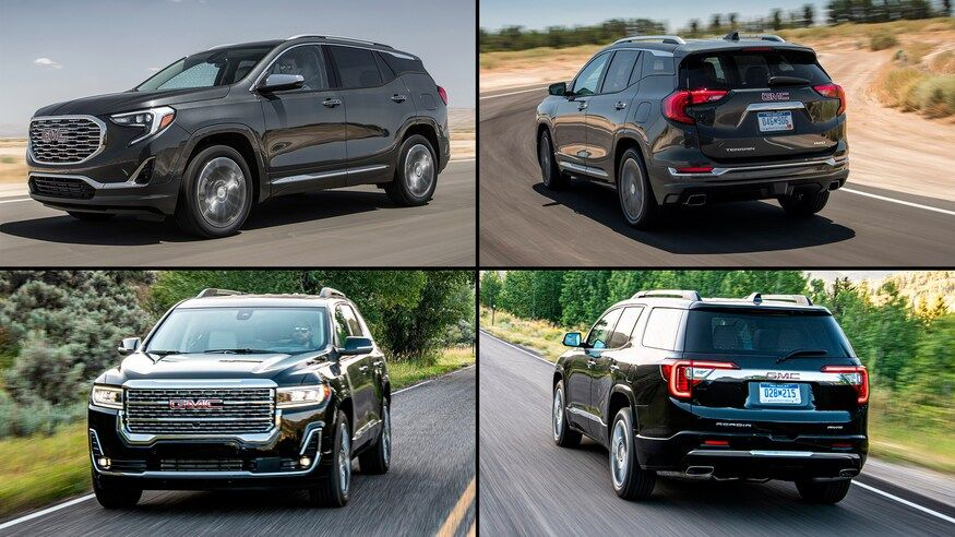 Family Resemblance What Is The Difference Between The Gmc Terrain