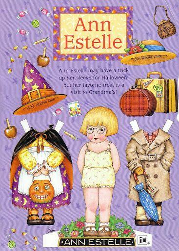 Ann Estelle..Halloween and visiting grandma.. ME Paper dolls - DollsDoOldDays - Picasa Web Albums