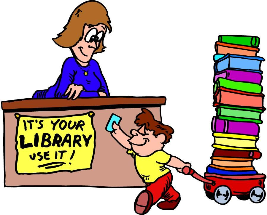Cartoon Picture Of Books - Cliparts.co | Library and Library Humor ...