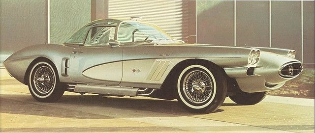 Chevrolet Corvette Xp 700 1958 Chevrolet Corvette Corvette Concept Cars