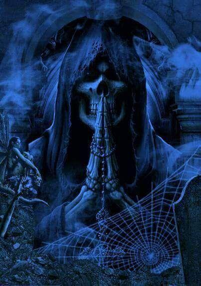 Pin by Mrs. Laura on cool skulls Grim reaper art, Grim