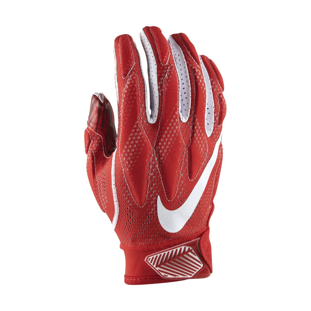 Nike Superbad 4 5 Football Gloves Size M University Red Football Gloves Football Kids Gloves