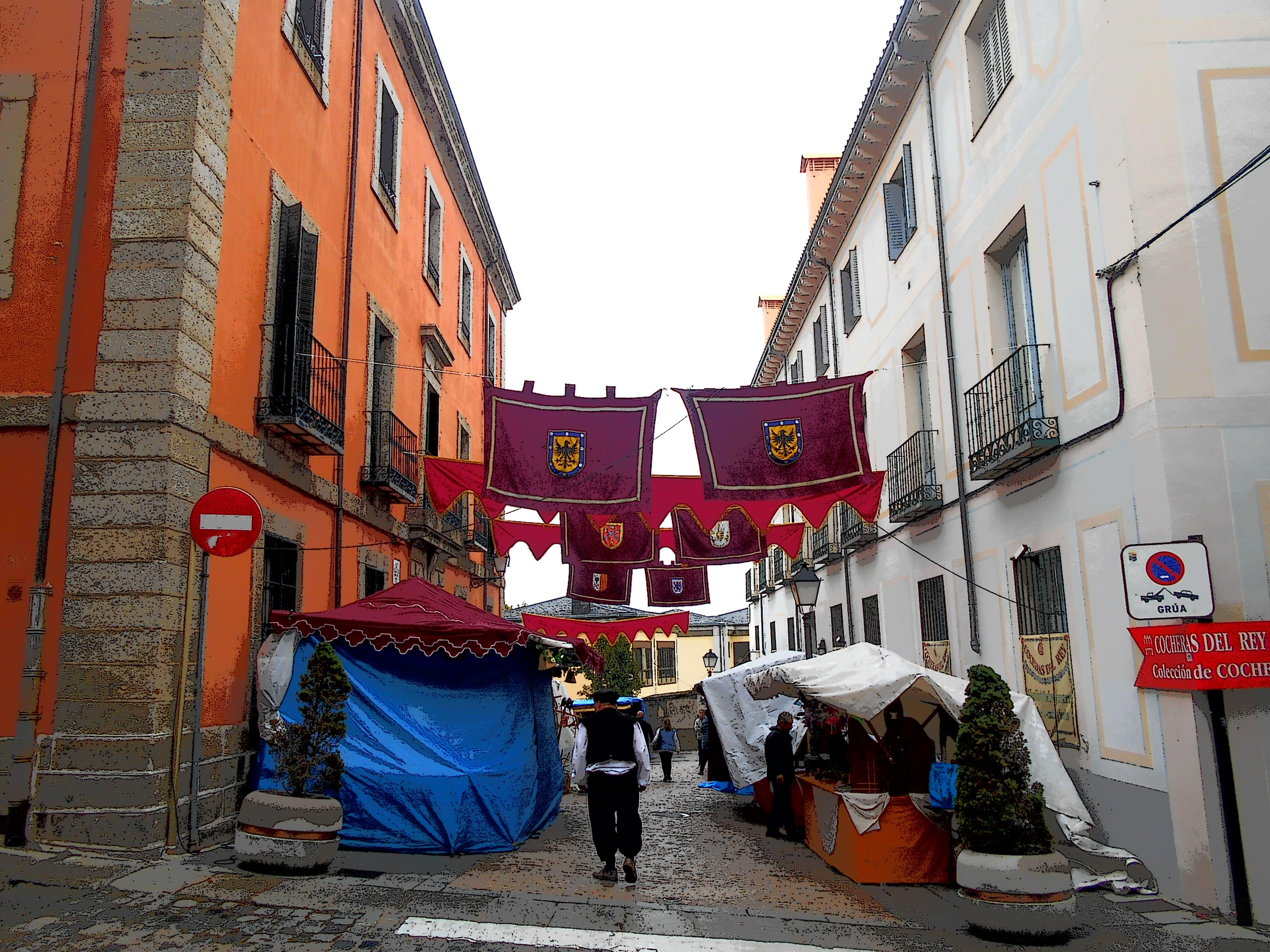 Mercado del Siglo de Oro. San Lorenzo de El Escorial. 9-12 Octubre 2015