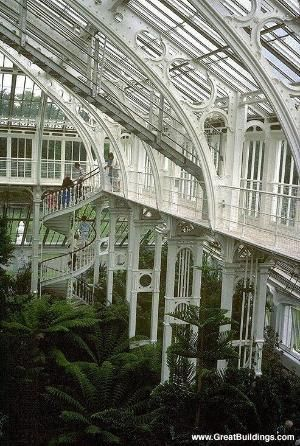 Palm House at Kew Gardens by Divonsir Borges