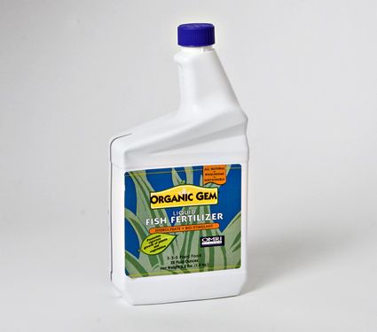 Organic Gem Liquid Fish Fertilizer White Flower Farm This Unique All Natural 3 0 Promotes Healthy Growth Increases Yields And Flowering
